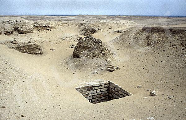 Sechemchet-Pyramide: Schacht, Bild-Nr. Grßansicht: 220a/23