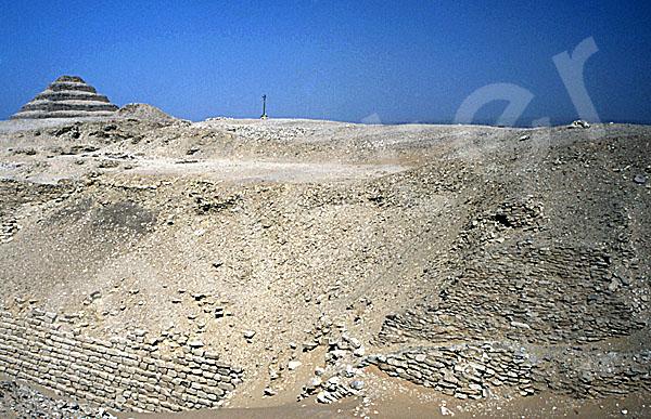 Sechemchet-Pyramide: Seite, Bild-Nr. Grßansicht: 220a/4