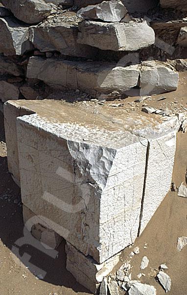 Sechemchet-Pyramide: Umfassungs- / Temenosmauer, Bild-Nr. Grßansicht: 220a/15