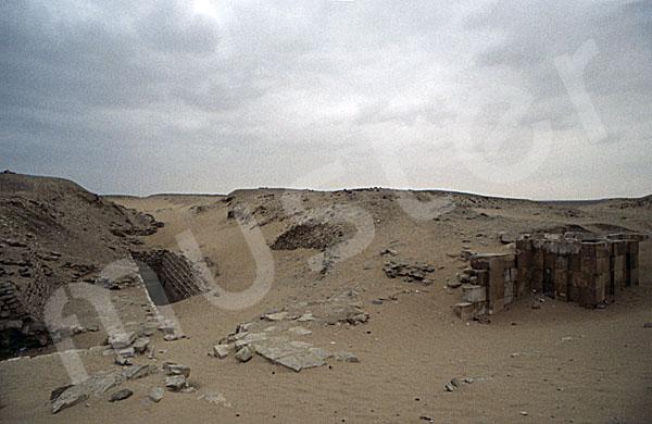 Sechemchet-Pyramide: Umfassungs- / Temenosmauer, Bild-Nr. Grßansicht: 220a/24