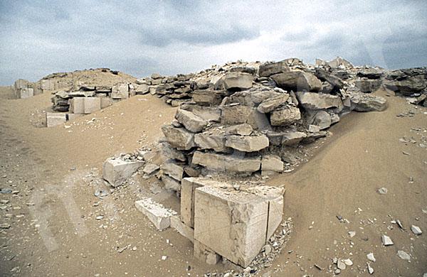 Sechemchet-Pyramide: Umfassungs- / Temenosmauer, Bild-Nr. Grßansicht: 220a/25