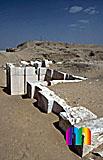 Sechemchet-Pyramide: Umfassungs- / Temenosmauer, Bild-Nr. 220a/12, Motivjahr: 1998, © fröse multimedia: Frank Fröse
