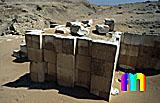 Sechemchet-Pyramide: Umfassungs- / Temenosmauer, Bild-Nr. 220a/14, Motivjahr: 1998, © fröse multimedia: Frank Fröse