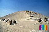Sesostris-I.-Pyramide: Ecke, Bild-Nr. 410a/1, Motivjahr: 2000, © fröse multimedia: Frank Fröse