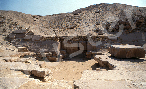Sesostris-I.-Pyramide: Nordtempel, Bild-Nr. Grßansicht: 410a/3