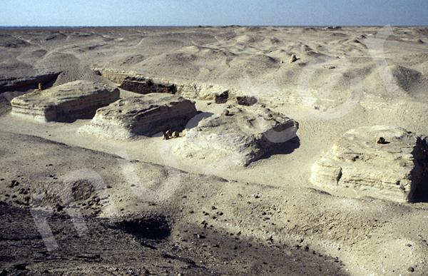 Sesostris-II.-Pyramide: Nordhof, Bild-Nr. Grßansicht: 450a/6