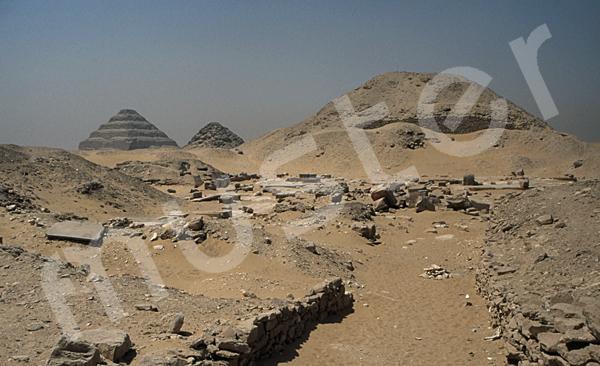 Teti-Pyramide: Aufweg, Bild-Nr. Grßansicht: 180a/12