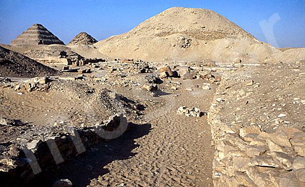 Teti-Pyramide: Aufweg, Bild-Nr. Grßansicht: 180a/18