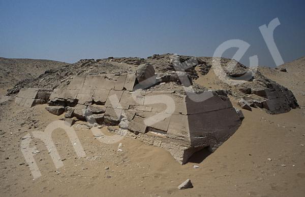 Teti-Pyramide: Ecke, Bild-Nr. Grßansicht: 180a/10