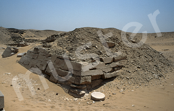 Teti-Pyramide: Ecke, Bild-Nr. Grßansicht: 180a/11