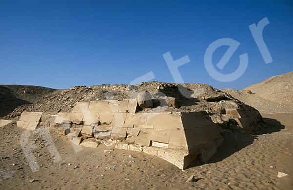 Teti-Pyramide: Ecke, Bild-Nr. Grßansicht: 180a/25