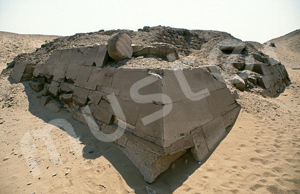 Teti-Pyramide: Ecke, Bild-Nr. Grßansicht: 180a/26