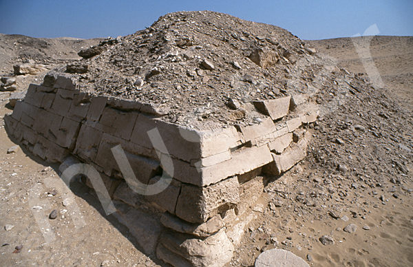 Teti-Pyramide: Ecke, Bild-Nr. Grßansicht: 180a/28