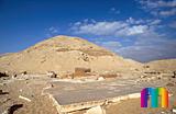 Teti-Pyramide: Totentempel, Bild-Nr. 180a/22, Motivjahr: 2000, © fröse multimedia: Frank Fröse