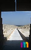 Unas Pyramide: Aufweg, Bild-Nr. 210a/20, Motivjahr: 1998, © fröse multimedia: Frank Fröse