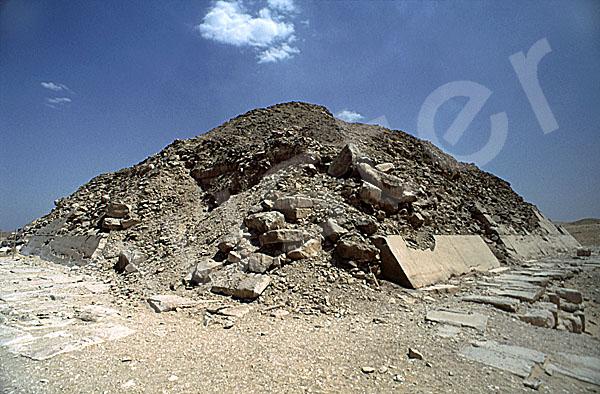 Unas Pyramide: Ecke, Bild-Nr. Grßansicht: 210a/1