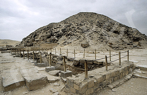 Unas Pyramide: Ecke, Bild-Nr. Grßansicht: 210a/37