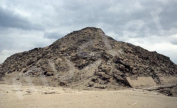 Unas Pyramide: Ecke, Bild-Nr. Grßansicht: 210a/38