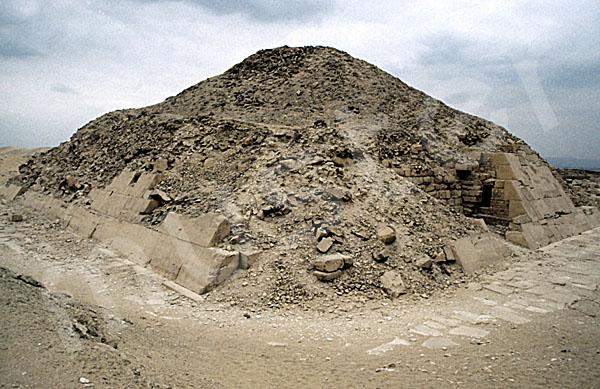 Unas Pyramide: Ecke, Bild-Nr. Grßansicht: 210a/39
