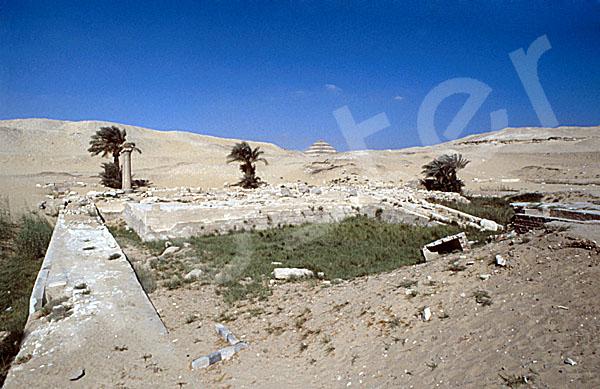 Unas Pyramide: Taltempel, Bild-Nr. Grßansicht: 210a/24