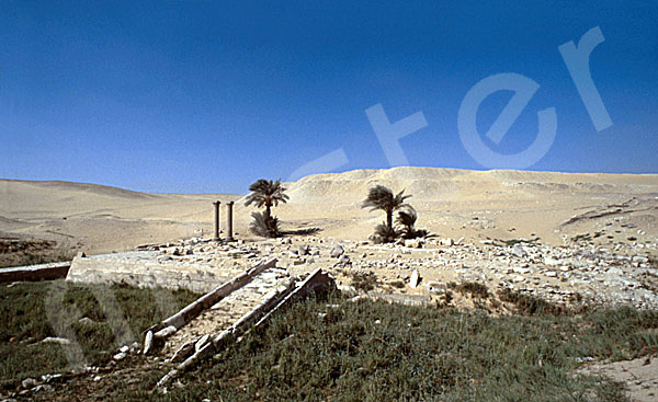 Unas Pyramide: Taltempel, Bild-Nr. Grßansicht: 210a/25