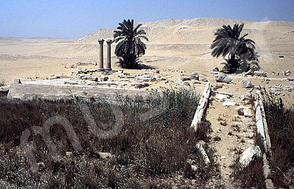 Unas Pyramide: Taltempel, Bild-Nr. Grßansicht: 210a/26