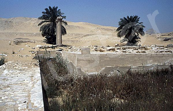 Unas Pyramide: Taltempel, Bild-Nr. Grßansicht: 210a/27