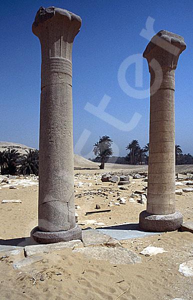 Unas Pyramide: Taltempel, Bild-Nr. Grßansicht: 210a/30