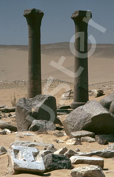 Unas Pyramide: Taltempel, Bild-Nr. Grßansicht: 210a/32