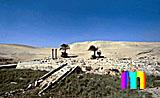 Unas Pyramide: Taltempel, Bild-Nr. 210a/25, Motivjahr: 1996, © fröse multimedia: Frank Fröse