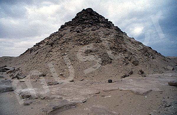 Userkaf-Pyramide: Ecke, Bild-Nr. Grßansicht: 190a/28