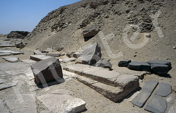 Userkaf-Pyramide: Opferkapelle, Bild-Nr. Grßansicht: 190a/10