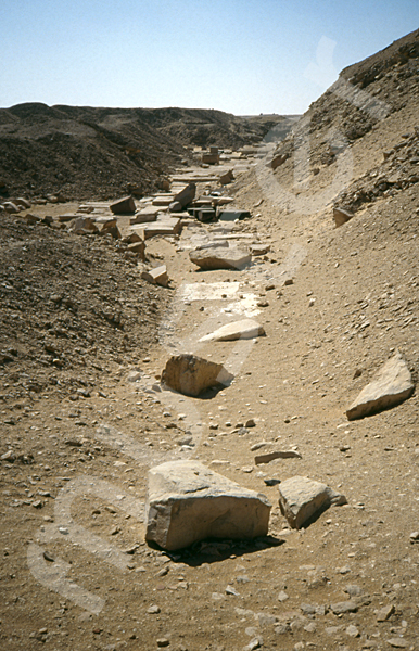 Userkaf-Pyramide: Opferkapelle, Bild-Nr. Grßansicht: 190a/11