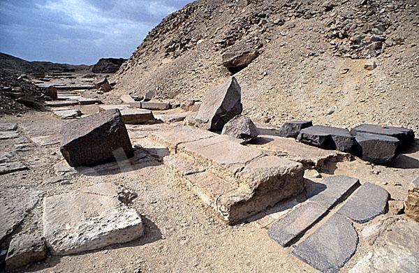 Userkaf-Pyramide: Opferkapelle, Bild-Nr. Grßansicht: 190a/36