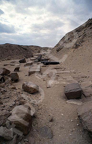 Userkaf-Pyramide: Opferkapelle, Bild-Nr. Grßansicht: 190a/37