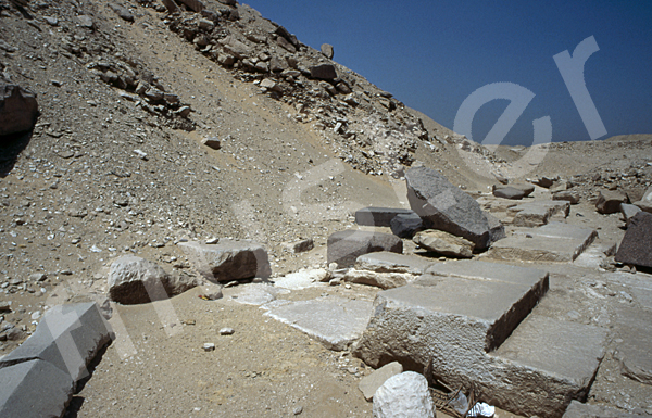 Userkaf-Pyramide: Opferkapelle, Bild-Nr. Grßansicht: 190a/9