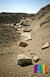 Userkaf-Pyramide: Opferkapelle, Bild-Nr. 190a/11, Motivjahr: 1996, © fröse multimedia: Frank Fröse