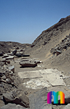 Userkaf-Pyramide: Opferkapelle, Bild-Nr. 190a/12, Motivjahr: 1998, © fröse multimedia: Frank Fröse