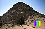 Userkaf-Pyramide: Seite, Bild-Nr. 190a/1, Motivjahr: 1996, © fröse multimedia: Frank Fröse