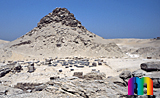 Userkaf-Pyramide: Totentempel, Bild-Nr. 190a/13, Motivjahr: 1998, © fröse multimedia: Frank Fröse